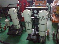 新普高炉液压润滑站用滤油机